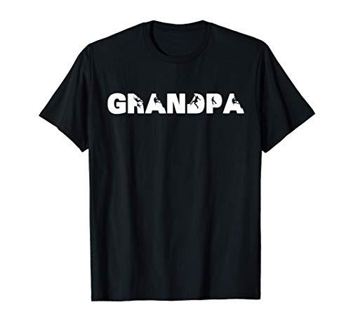 Hombre El abuelo de la raqueta, el abuelo de la raqueta... Camiseta