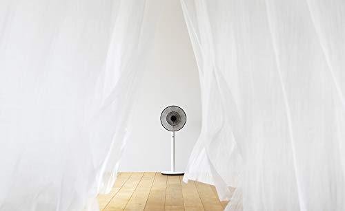 バルミューダ省エネ静音リビング扇風機TheGreenFan(グリーンファン)|EGF-1700-WK(ホワイト×ブラック)