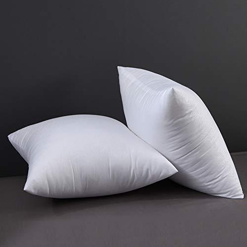 Núcleo de almohada de terciopelo de plumas, núcleo de cojín de dormitorio, núcleo de almohada de oficina