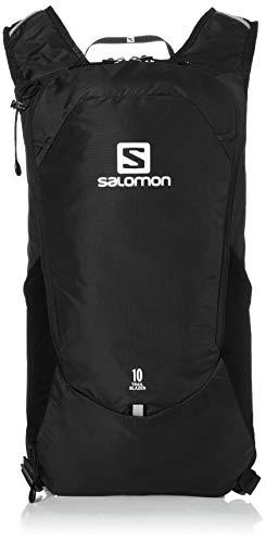 Salomon Trailblazer10, Zaino da Escursionismo/Corsa Confortevole e Leggero, capacità di 10 l, LC1048300 Unisex Adulto, Nero, Taglia Unica