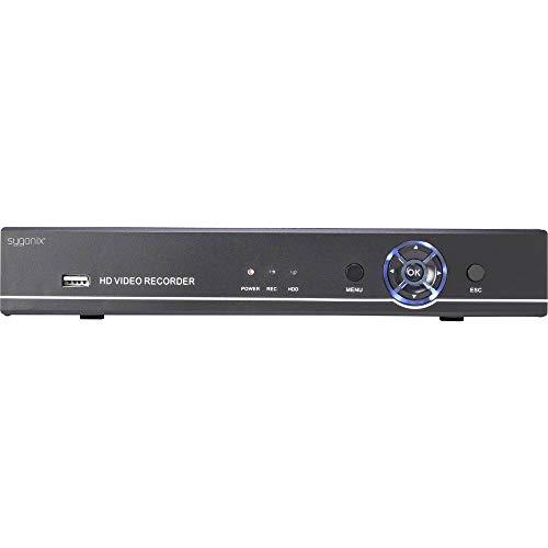 Sygonix SY-3258854 (Analog, AHD, HD-CVI, HD-TVI, IP) Digitalrecorder