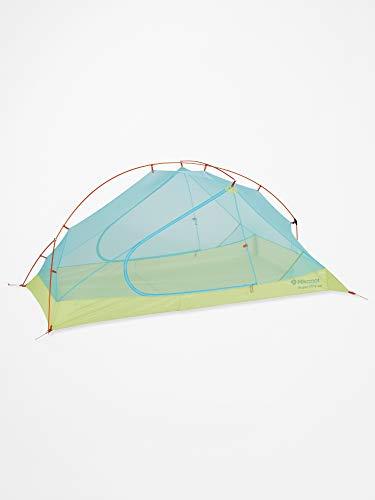 Marmot Unisex's Superalloy 2P Ultralight 2 Persoon, Kleine 2 Man Trekking, Camping Tent, Absoluut Waterdicht, Groen Glow