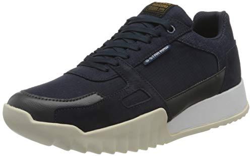 G-STAR RAW Herren Rackam Reduc Sneaker, dk saru Blue/Rover 8966-A852, 44 EU