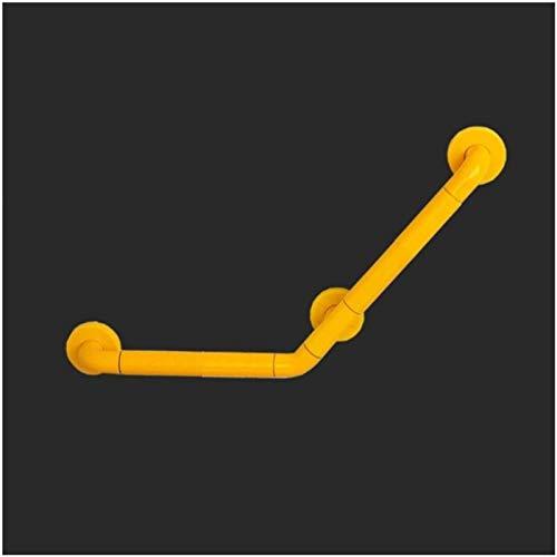 Badegriff Griff Dusche Sicherheit Haltegriff Anti-Rutsch-Geländer robust for ältere Menschen Behinderte Badezimmer WC Sicherheit Pull Hilfswerkzeuge ( Color : Yellow , Size : 40/15.74in*60/23.62in )