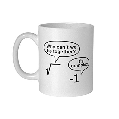 getDigital Nerd Geek Tasse Becher It is Complex, Keramik, Weiß, 300 ml, 10 x 10 x 10 cm