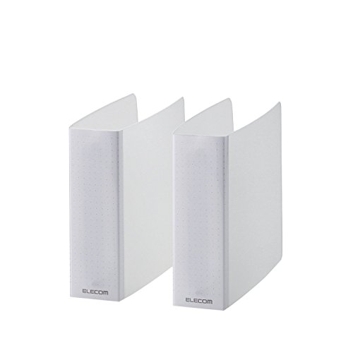 エレコム 不織布ケース専用ファイル CD DVD Blu-ray対応 2個セット 24枚収納 クリア CCD-B01WCR