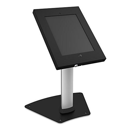 PureMounts PDS-5600 Standfuß für Apple iPad 2/3/4/Air, Säulenhöhe: 331mm, neigbar: -90° bis 90°, inkl. Diebstahlsicherung