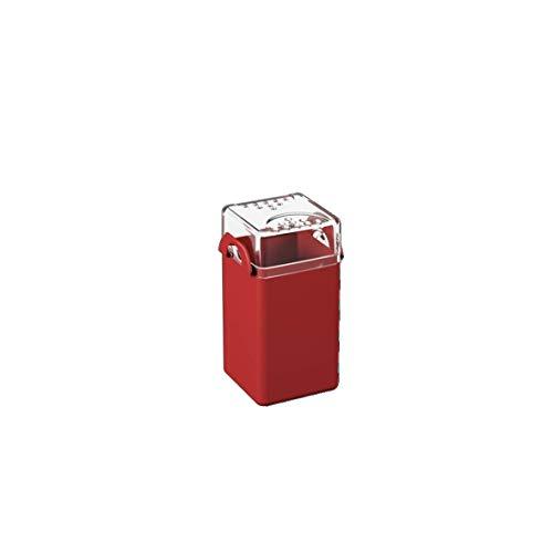 Saleiro/Pimenteiro Casual, 5 x 4 x 8 cm, Vermelho Bold, Coza