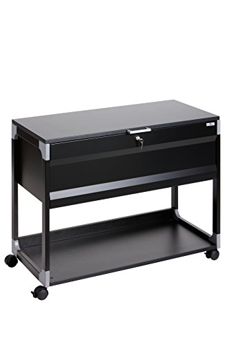 Durable 378701 System File Trolley 100 Multi Top, schwarz