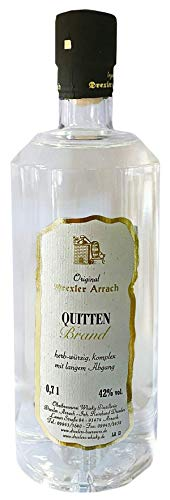 Quitten-Brand, Original Drexler Arrach, 0,7l.