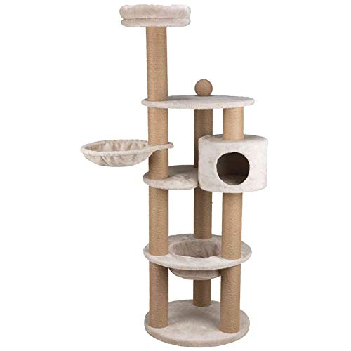 Price comparison product image Trixie Pet Products 44429 Nigella Scratching Post,  177 cm,  Light Grey,  Gray