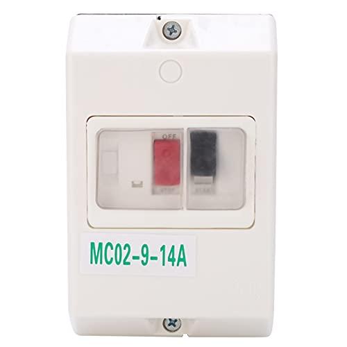 MC02‑9‑14A 220V/380V, disyuntor del motor, disyuntor de protección del motor, disyuntor, protector impermeable de repuesto MC02‑9‑14A 220V/380V