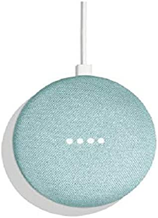 Google Home Mini Wireless Voice Activated Speaker - Aqua