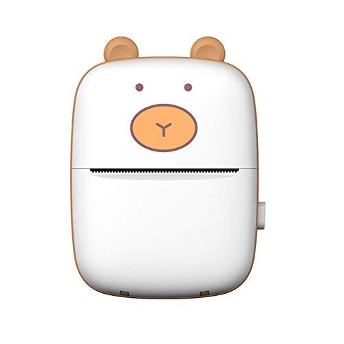 Festnight USB-Taschen-Thermodrucker Mini-Fototester Papierdrucker Tragbarer Hausaufgaben-Drucker für Studenten