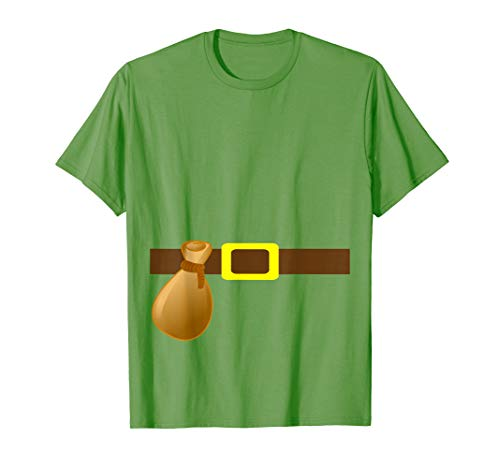 Jack and the Beanstalk Elf Couples Costume T-shirt