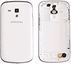 Backer The Brand Back Panel Replacement Battery Housing Full Body Panel for Samsung Galaxy S Duos S7562 GT-S7562- White