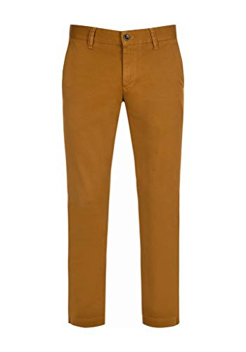 ALBERTO Garment Dyed Pima Cotton Chino Modell Lou in 35/32