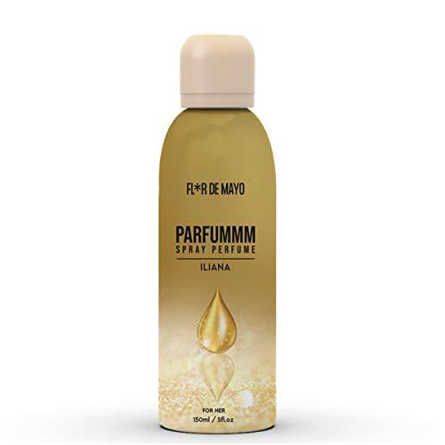 Perfume Floral-Frutal para Mujer, Larga Duración, Perfume en Formato Spray 150 ml, Ideal para regalo (ILIANA)