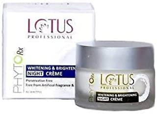 Lotus Professional Phyto Rx Whitening And Brightening Night Cream, 50g