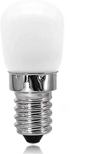 POFET 4pcs E14 Lampadina a LED 2.5W Lampadina a LED per Frigorifero Lampadina pigmea SES Bianco Caldo 3000K Equivalente a 25W Lampadina alogena Lampadina a Risparmio energetico