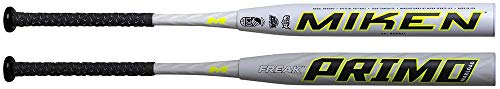 Miken 2020 Freak PRIMO Maxload USSSA Slowpitch Softball Bat, 14 inch Barrel Length, 25 oz