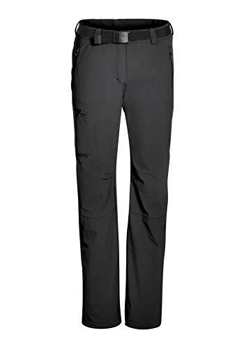Maier Sports Pantalon Fonctionnel pour Femme, Noir, Taille 25
