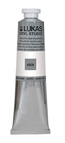 Lukas Cryl Studio 75 ml, Acrylfarbe in Premium-Qualität, Titanweiß