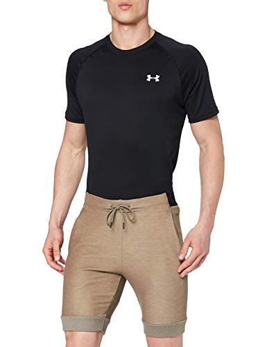 Under Armour Unstoppable Move Light Short Homme Marron FR : S (Taille Fabricant : Taille Unique)