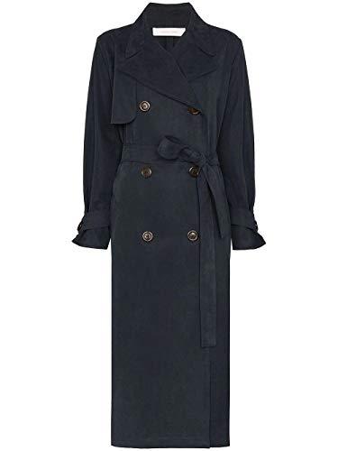 See by Chloé Luxury Fashion Femme CHS20SDM061624C3 Bleu Viscose Trench Coat | Printemps-été 20