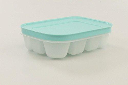 TUPPERWARE Gefrier-Behälter Eiswürfler mit Deckel mint türkis mini Eiswürfel Eis