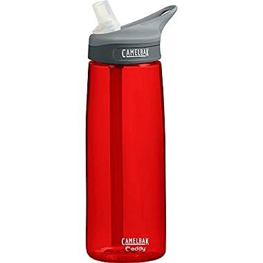 CamelBak Eddy Water Bottle, Chili Red, 0.75-Liter