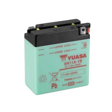 Motorize - Batterie YUASA 6N11A-1B 11 AH