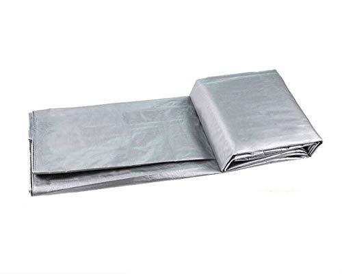 Lona impermeable para exterior de polietileno de 180 g/m², lona de protección, lona para barcos, lona de protección pesada antilluvia, cubierta de exterior (10 x 20 m)