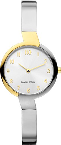 Danish Design Damen Analog Quarz Uhr mit Titan Armband IV65Q1201