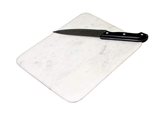 Pared hecha a mano blanco forma de rectángulo de mármol–tabla de...