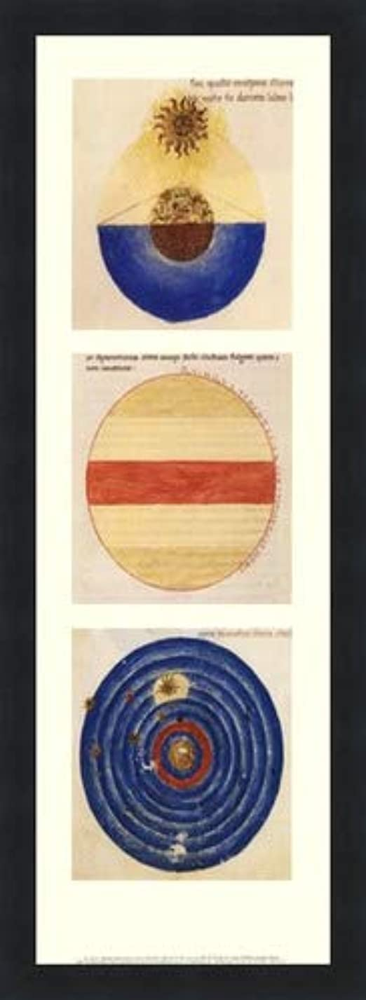 論理超高層ビル拡声器抽象円I by Martianus Capella?–?8?x 22インチ?–?アートプリントポスター LE_71218-F101-8x22