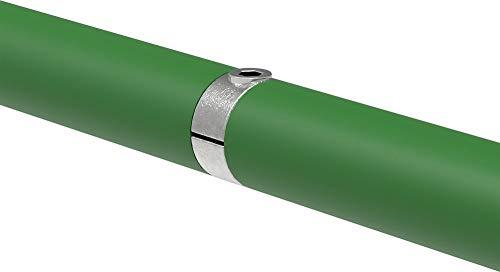 Fenau | Verlängerungs-Stück/Verbindungs-Stück, Innen-Rohrverbinder, Ø 33,7 mm, Temperguss galvanisiert, feuerverzinkt, inkl. Schrauben