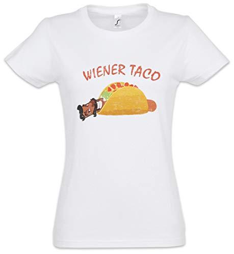 Urban Backwoods Wiener Taco Damen T-Shirt Weiß Größe L