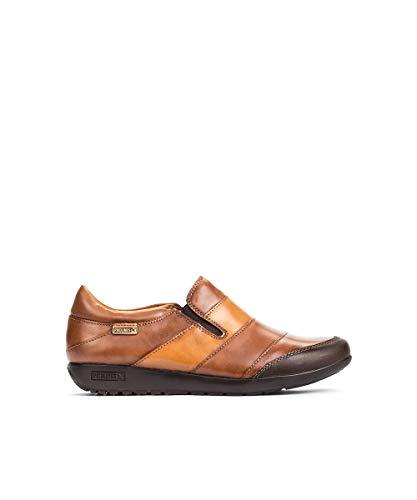 Pikolinos W67-4649 Lisboa Schuhe Damen Slipper Halbschuhe, Schuhgröße:41 EU, Farbe:Braun