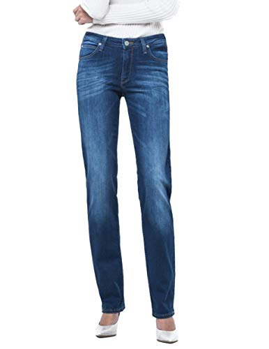 Lee Marion Straight Jeans, Night Sky, 40/31 Femme