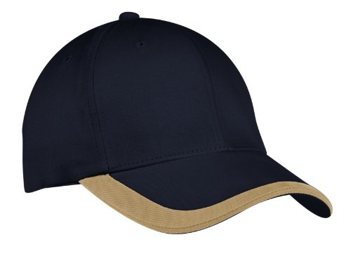 Port Authority Men's Contrast Stripe Sandwich Bill Cap