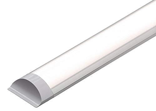 Elite Line 36W LED Batten Ceiling Lights 4FT Thin Tube Ceiling Light with IP66 Cold White 6500K 3200LM Slim for Garage, Workshop, Bathroom, Commercial Indoor & Outdoor Application + 2 Year Warranty