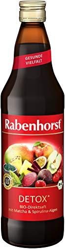 Rabenhorst Detox Bio, Früchtemischungen (6 x 700 ml)