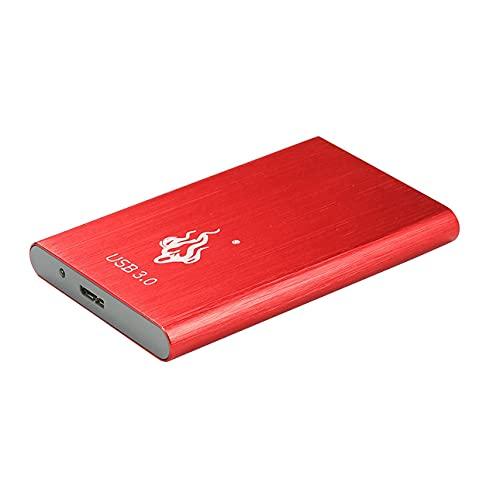 Ba30DEllylelly Disco rigido esterno USB 3.0 2 TB 1 TB HDD 2,5 '' Adatto per PC Windows Unità mobile portatile da 500 GB 1 TB 2 TB