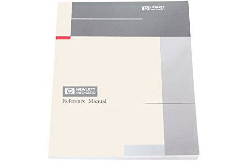 Hewlett Packard 9000 Computers B2355-90033 HP-UX Reference Volume 1 Manual (Generalüberholt)