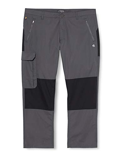 Craghoppers Pantalon Traverse Homme, Gris (Elephant /Black), EU 44 (Taille fabricant: 30UK),S