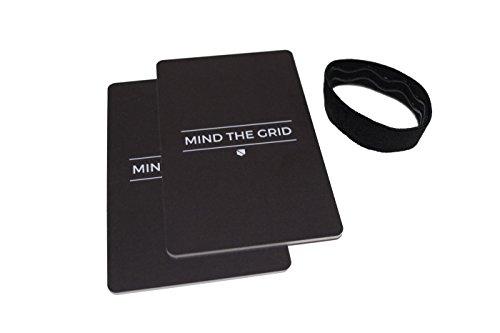 Silent Pocket RFID Blocking Minimalist Credit Card Wallet - Secure Your Information, Simple/Sleek Design, Great for Travel