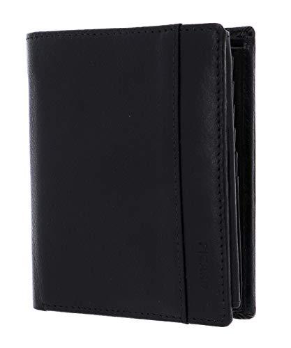 Picard, Männer Geldbeutel aus der Serie Buddy 1, in der Farbe Schwarz, aus Leder 462992Z001