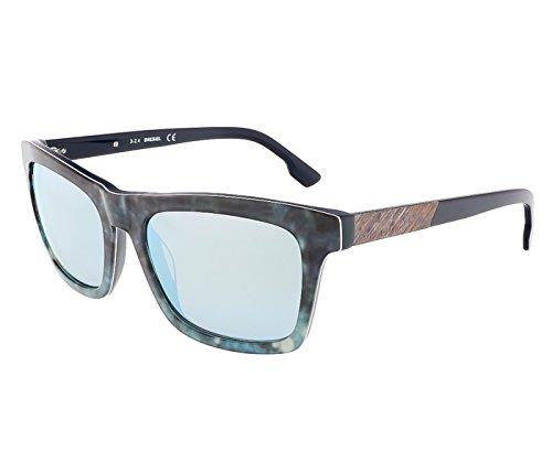 Diesel 0120 Dark Tortoise / Grey Gradient Kunststoffgestell Sonnenbrillen