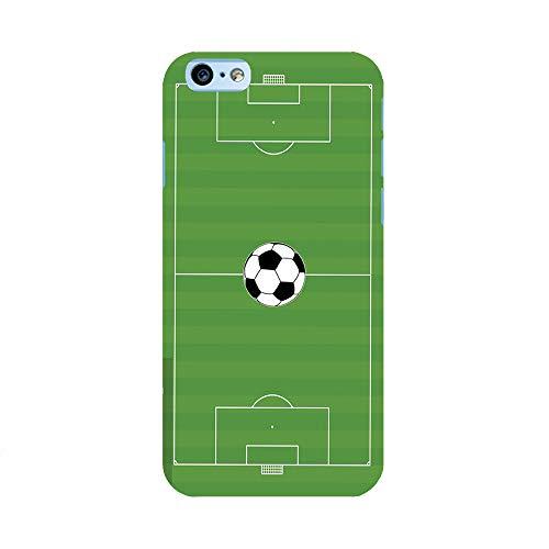 EREMITI JEWELS Cover Personalizzata con Immagine Campo da Calcio con Pallone Smartphone iPhone 5 5C 6 6S 6 Plus 6S Plus 7 7PLUS 8 8PLUS X XR XS XSMAX (iPhone 12/12 PRO)